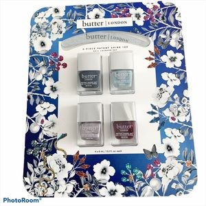 Butter LONDON Nail Color 4 Pack Gift Set NWT